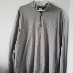 XXL Calvin klein long sleeve top grey